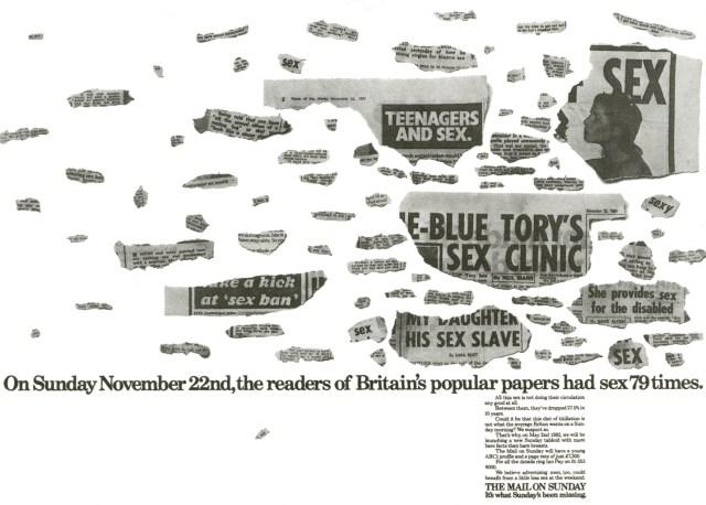 Jeff Stark, The Mail 'Sex', Saatchi's-01