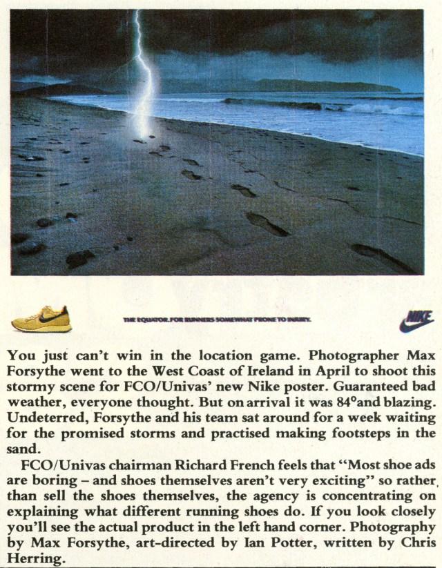 Max Forsythe, Nike 'Lightening', FCO-01