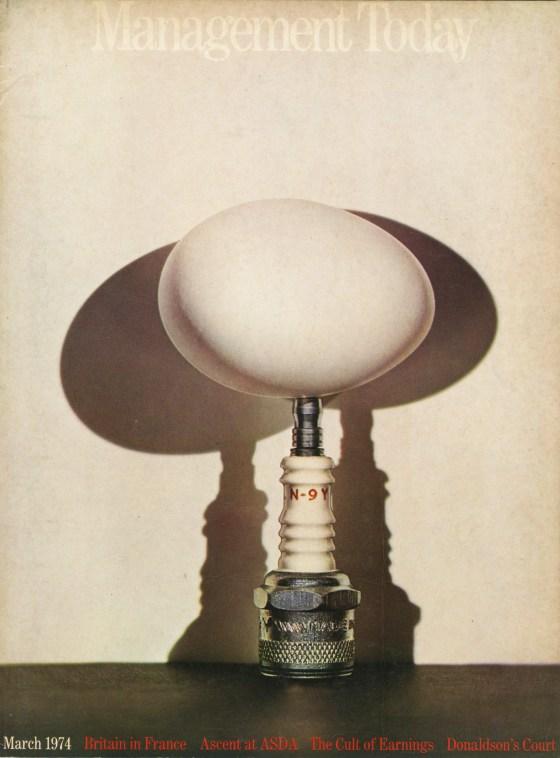 Lester Bookbinder, Management Today 'Egg'**