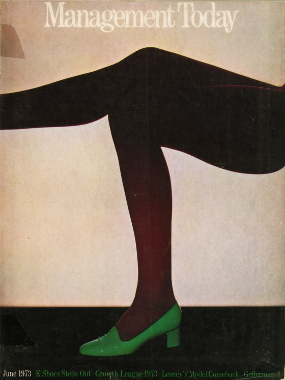 Lester Bookbinder, Management Today 'Green Shoe'**