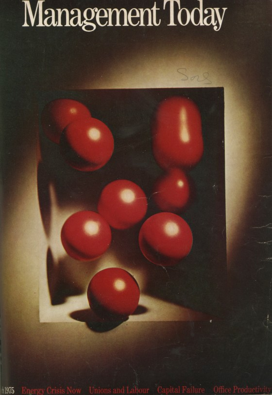 Lester Bookbinder, Management Today 'Red Balls'**-01