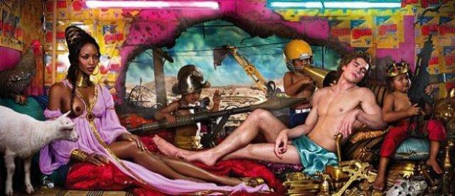 david_lachapelle - the-rape of Africa