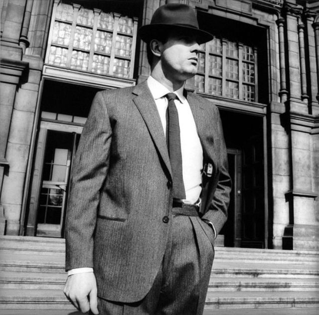 Terence Donovan 'Man Outside Court'