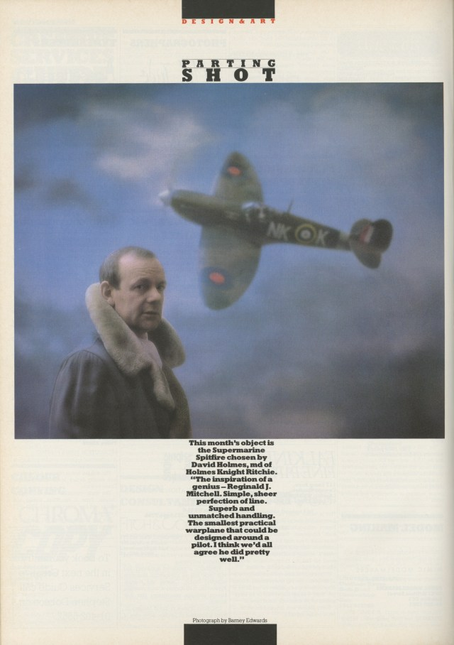 Barney Edwards, David Holmes:Direction Magazine