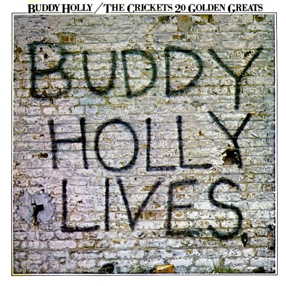 Buddy Holly, 20-golden-greats, John O'Driscoll:CDP