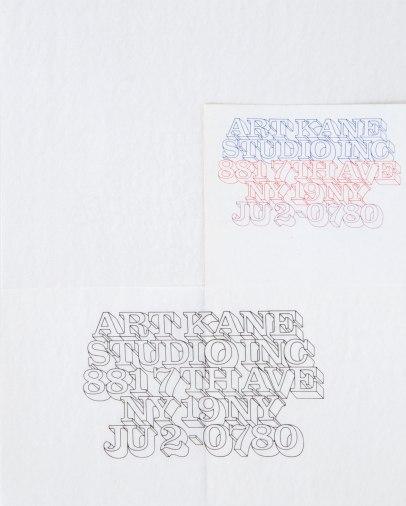 Art Kane Letterhead:Heb Lubalin
