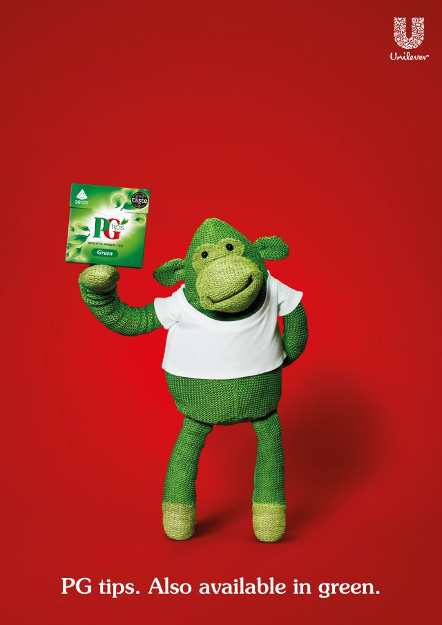 PG tips Green Tea 'Green Monkey'