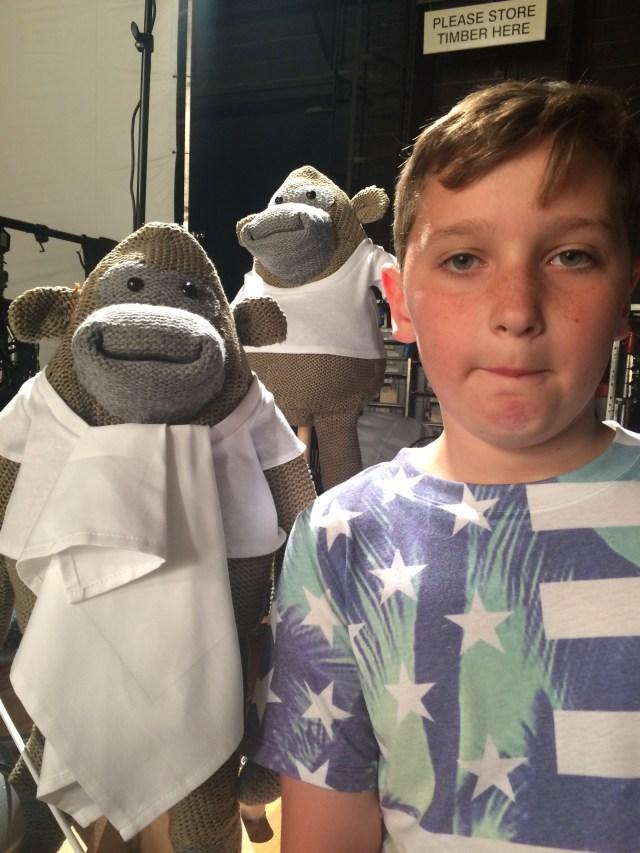 PG tips Shoot 'Louis & Monkey 3'