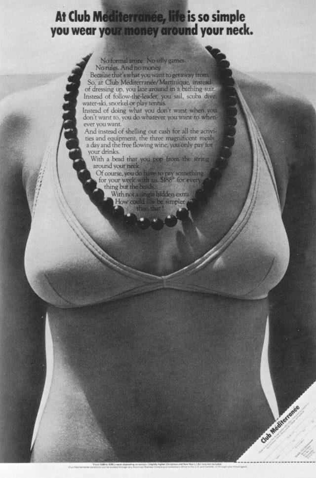 Club Meditarranee 'Beads', Evan Stark.