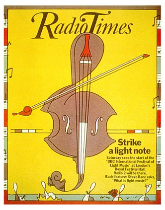Brian Grimwood 'Radio Times' Cover