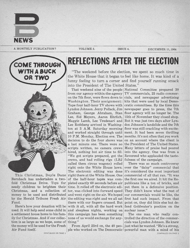 DDB News_1964December11-01