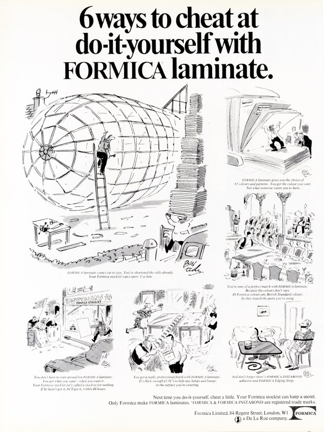 Formica '6 Ways*', David Holmes, KMP-01