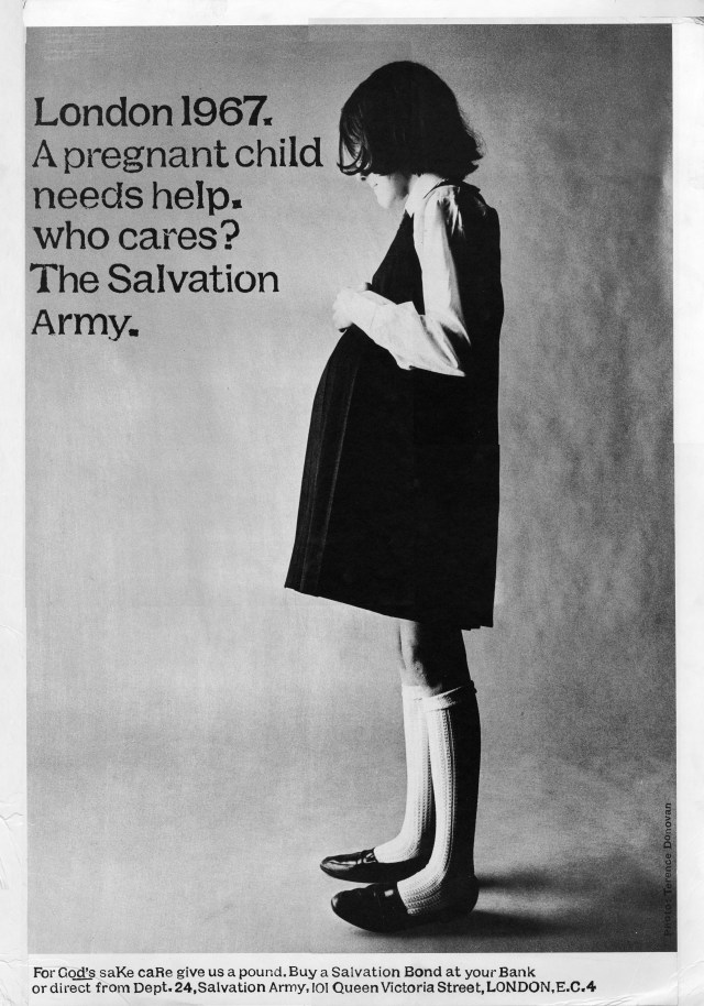 Salvation Army 'Pregnant Girl', David Holmes, KMP