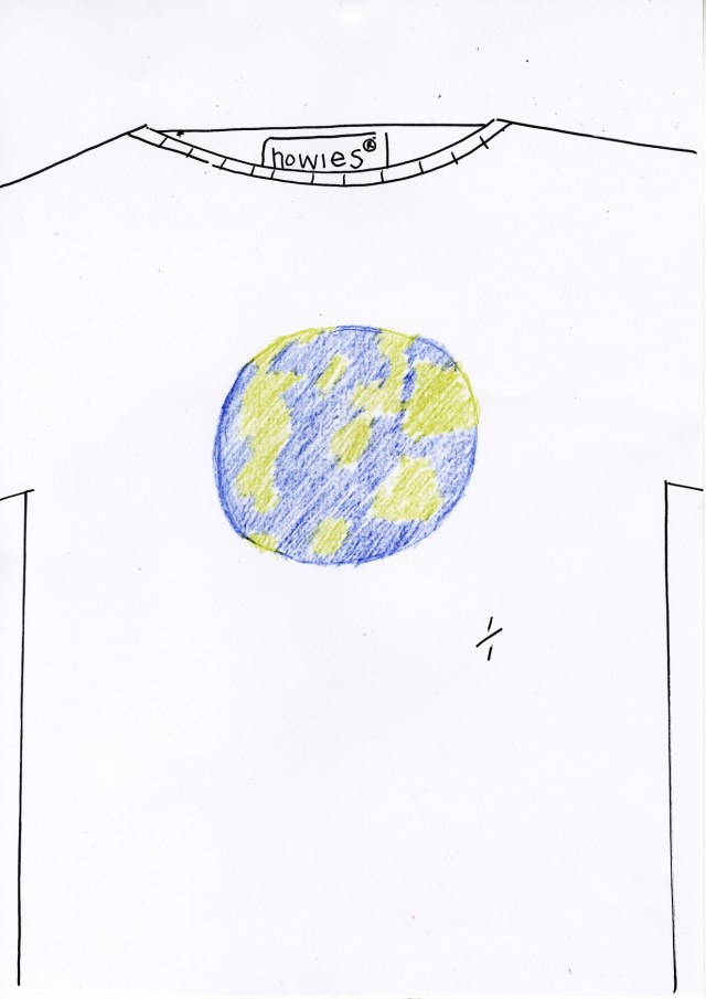 1. '1:1-world' Howies T-Shirt, DHM