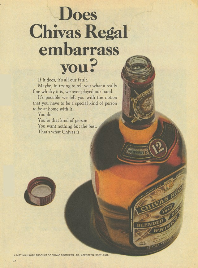 2. 'Does Chivas Embarass' Chivas Regal, DDB NY-01.jpg