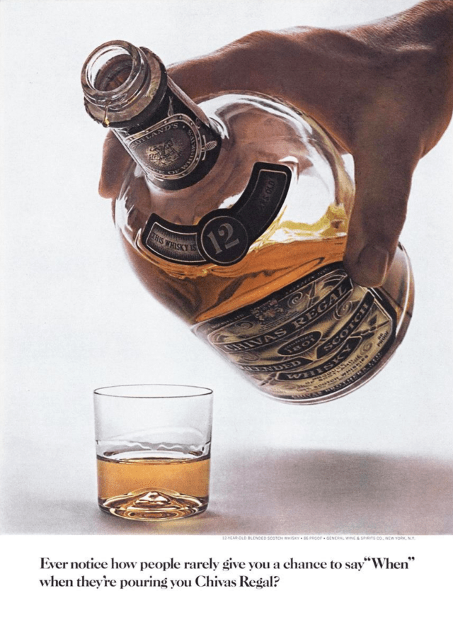 2. 'Ever Notice' Chivas Regal, DDB NY (Esquire)