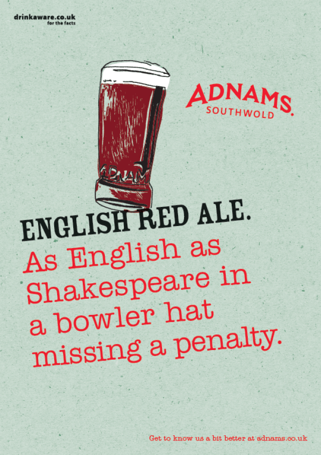 'As English As' English Red Ale, Adnams.png