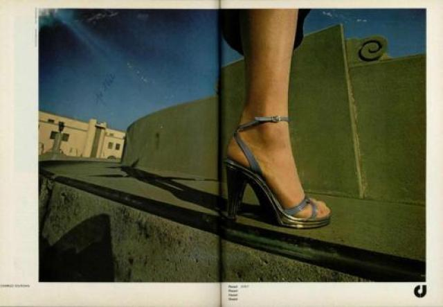 'Step' Charles Jourdan, Guy Bourdin