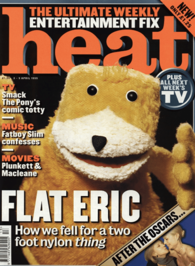 'Flat Eric', Levi's, Tony Davidson, BBH, HEAT