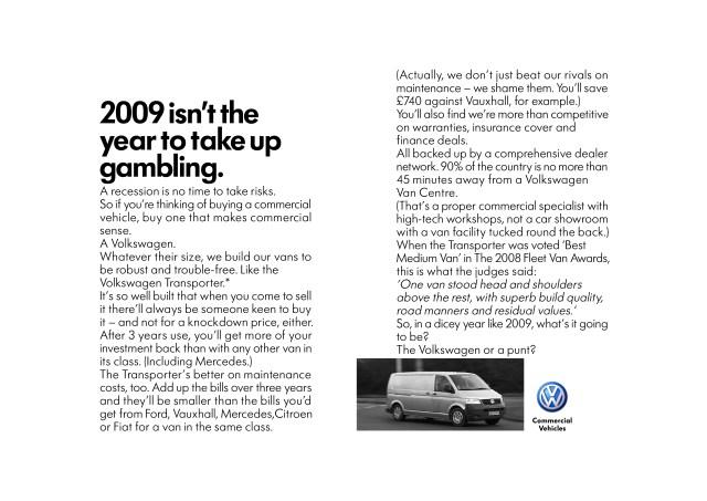 'Gambling', Volkswagen CV, DHM, David Abbott-01.jpg