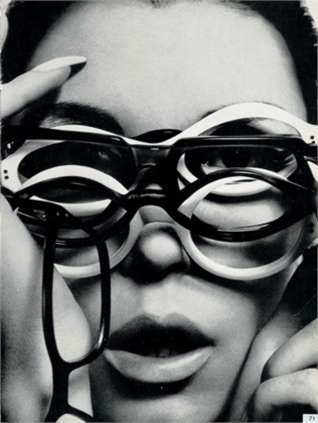 Guy Bourdin 'Multi-Glasses'