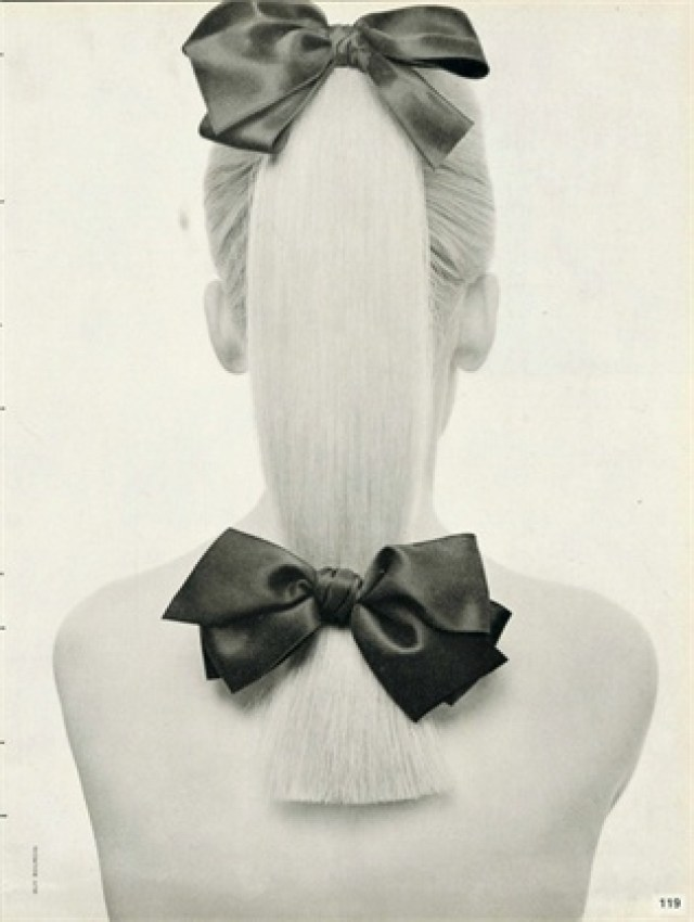 Guy Bourdin 'Ribbon Hair'