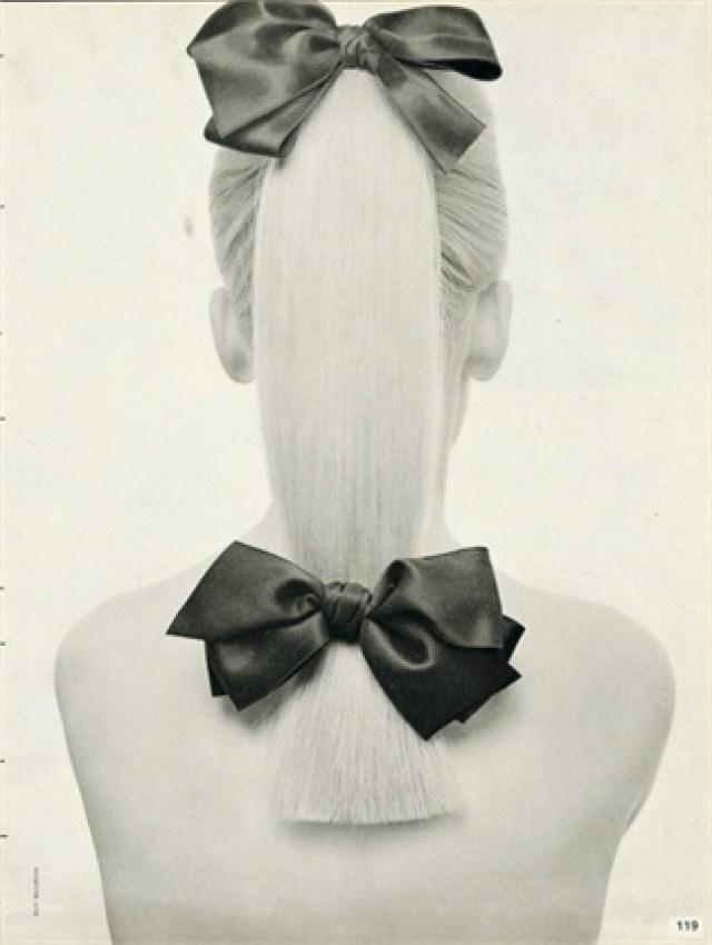Guy Bourdin 'Ribbon Hair'