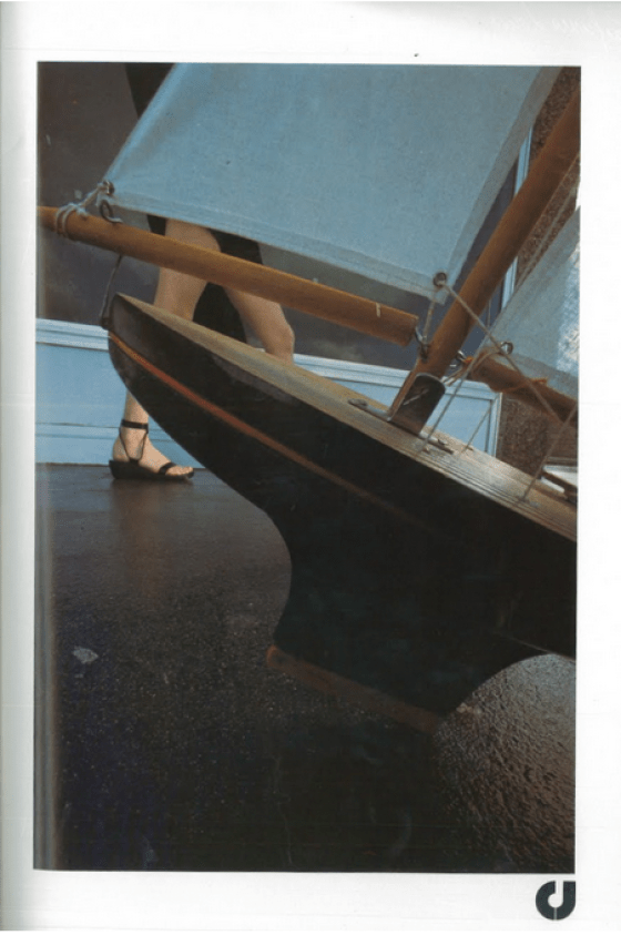 'Small Boat*' Charles Jourdan, Guy Bourdain.png