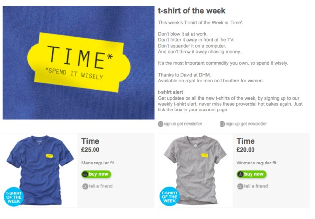 'TIME' Howies, T-Shirt.jpg