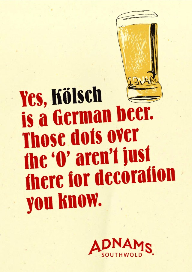'Yes, Kolsch Is' Kolsch, Adnams.jpg