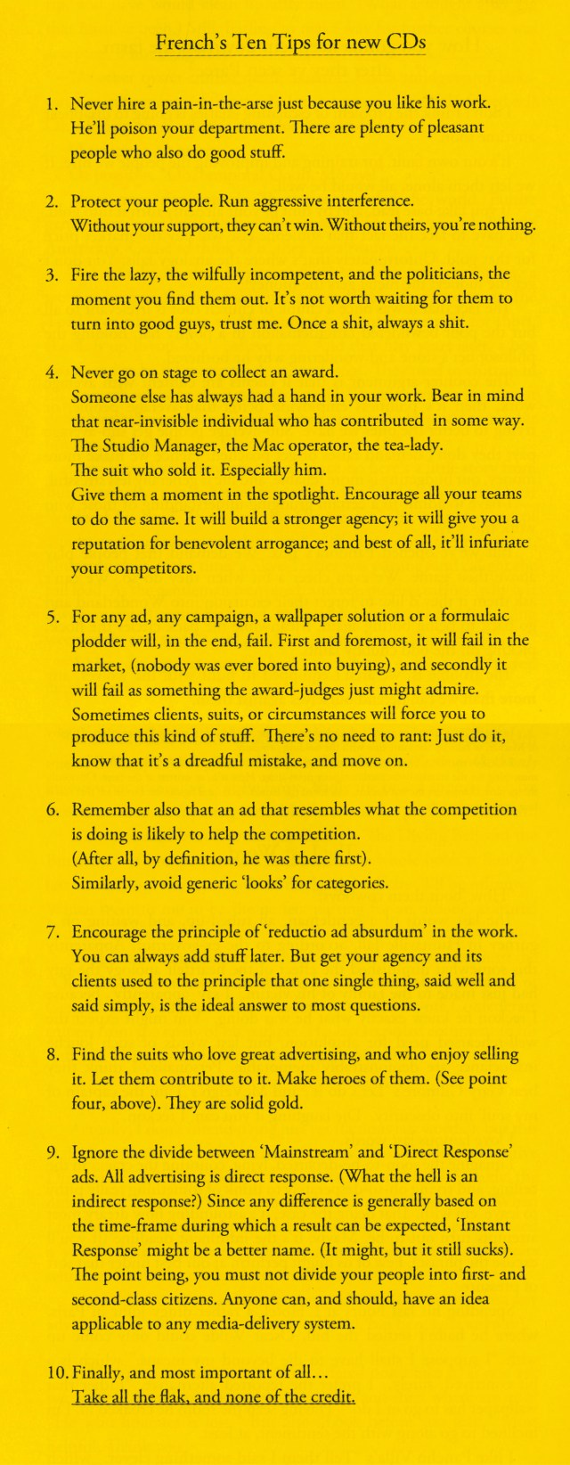'10 Creative Director's Tips' Neil French-01.jpg