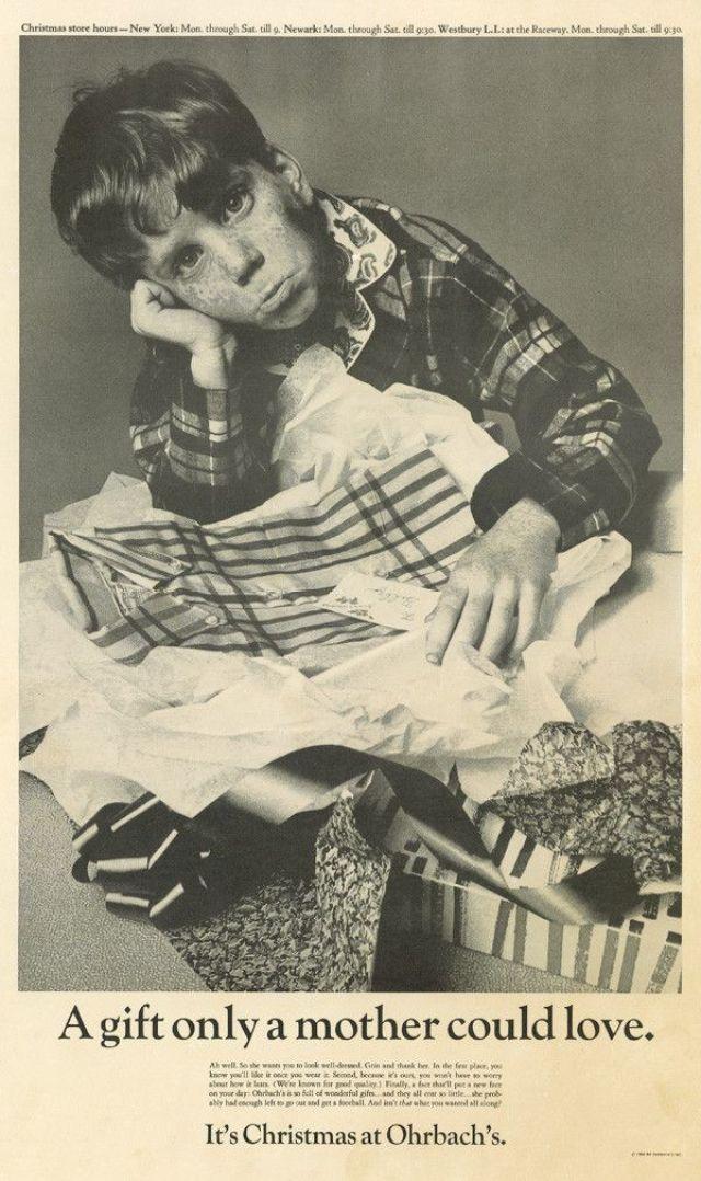 3. Ohr,bach's, Howard Zieff, DDB NY