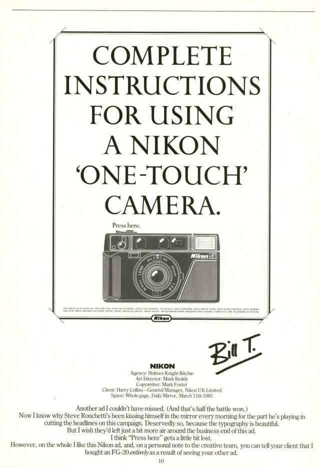 'Advent' Nikon, Mark Reddy, HKR*-01