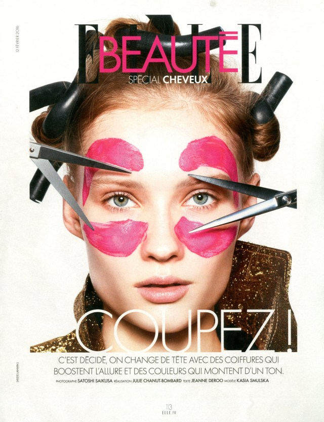 'Elle Beaute - Cover' Satoshi Saikusa