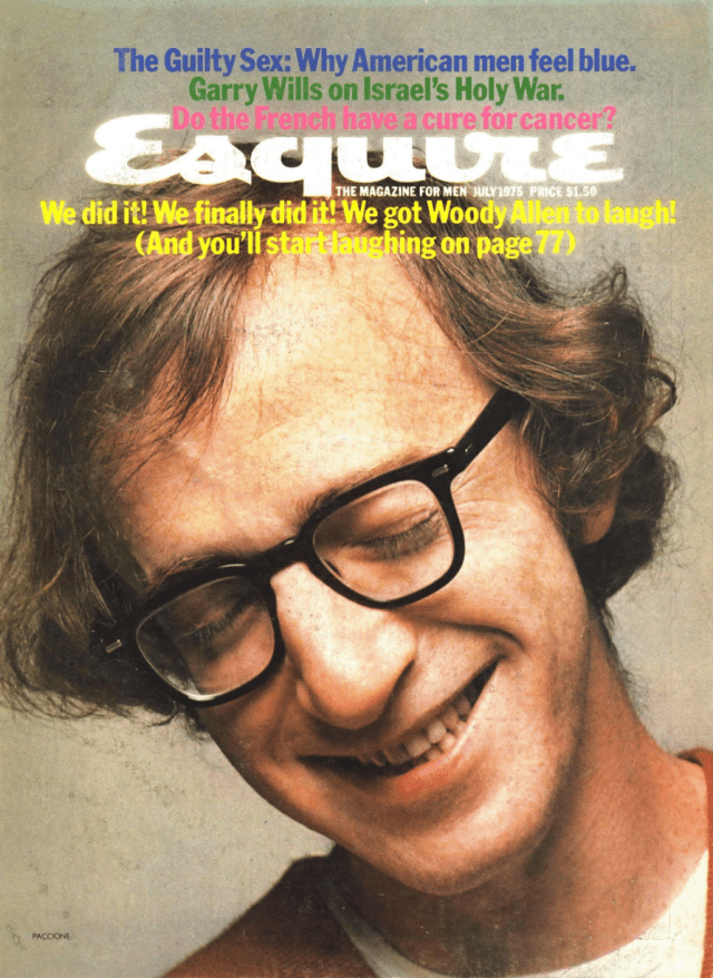 Esquire Cover 'Woody Allen Laughing', Onofrio Paccione, .png