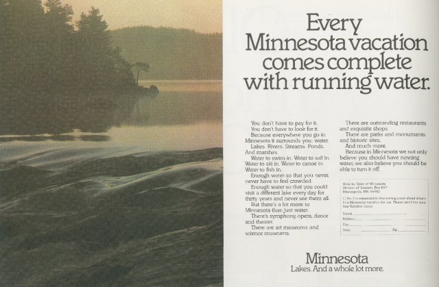 'Every Minnesota Vacation' Minnesota LakesTom McElligott, 'Running Water' - Minnesota.Nancy Rice-01.jpg