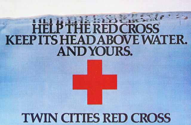 'Help The Red' Twin Cities Red Cross, Tom McElligott-01