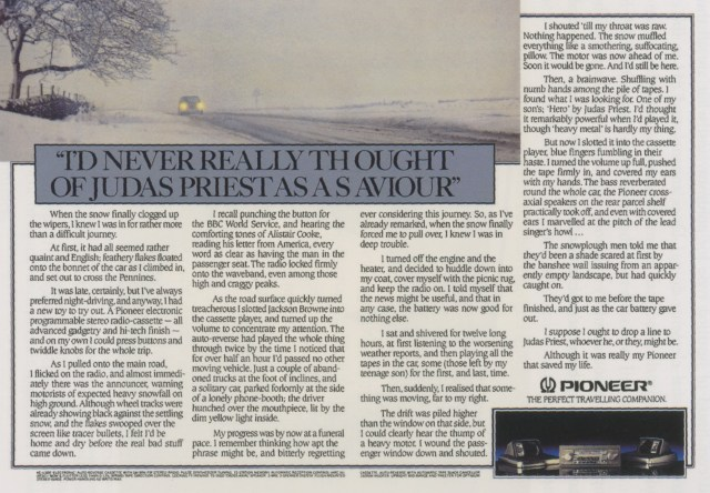'I'd Never' Panasonic, Neil French, HKR-01