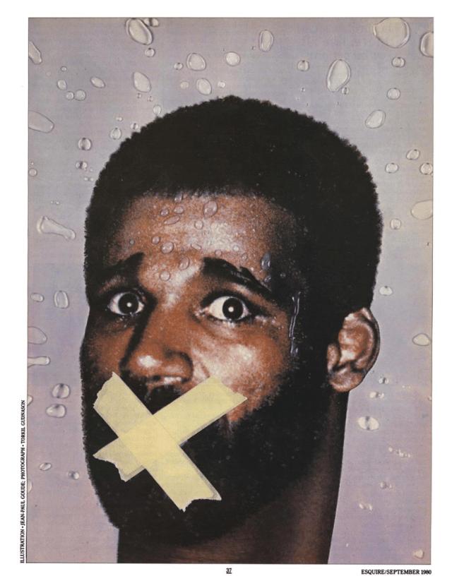 Jean Paul Goude 'Boxer X', Esquire.png
