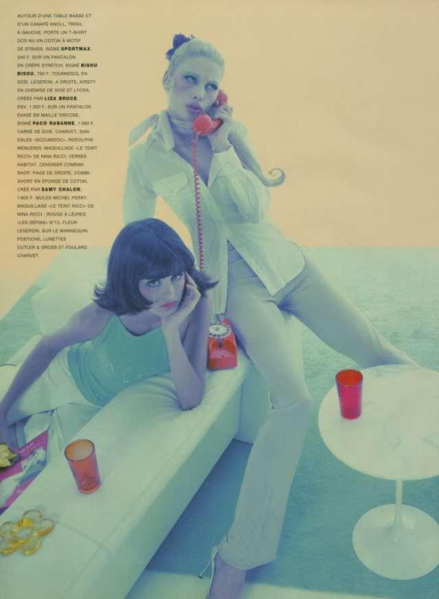 'Kirsty Hume & Trish Goff' Satoshi Saikusa, Paris Vogue