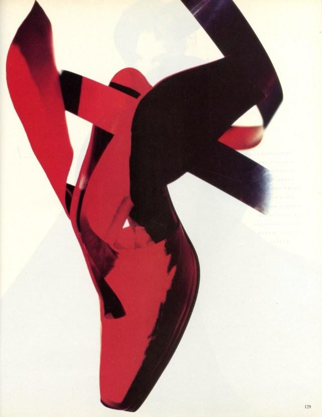 'Red Shoe' Vogue Italia, Satoshi Saikusa-01