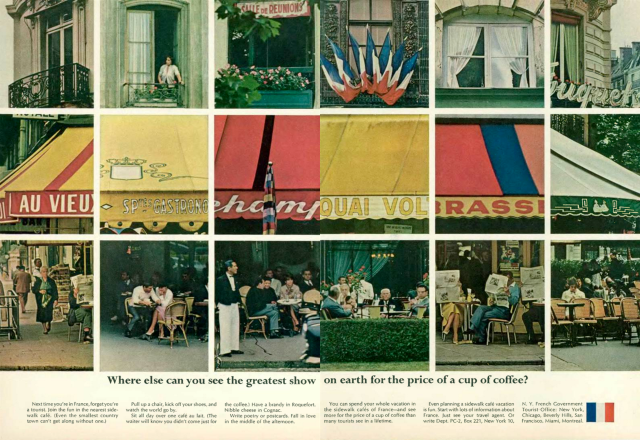 'Where Else' French Tourist Board, DDB NY, 1960's.png