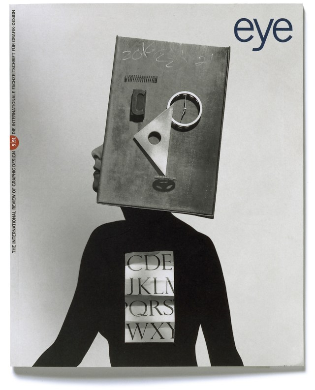 'Eye Magazine Cover' 1991, ©geof kern