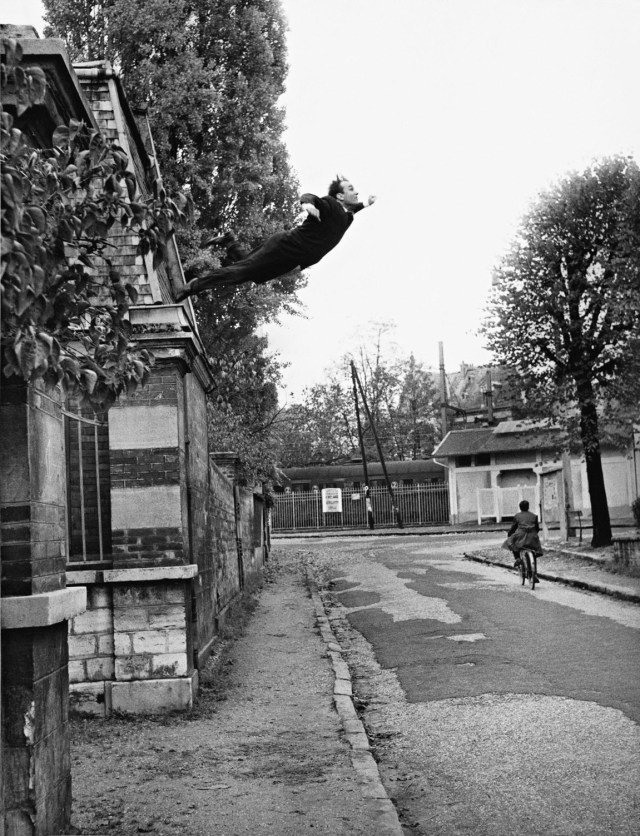 'Jumping Off Roof' Yves Klein