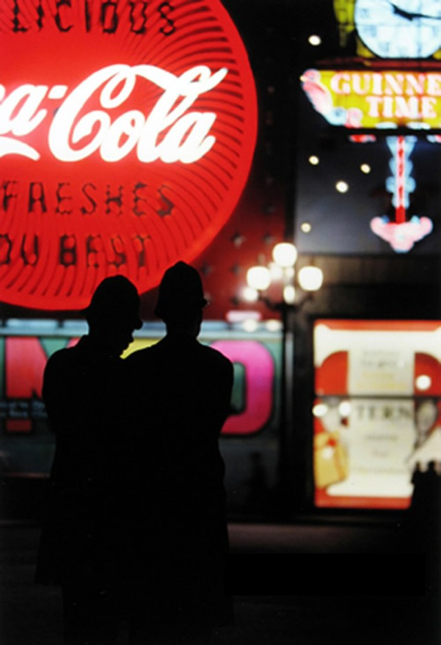 1. 'Coca-Cola', Saul Leiter-Dave Dye-01