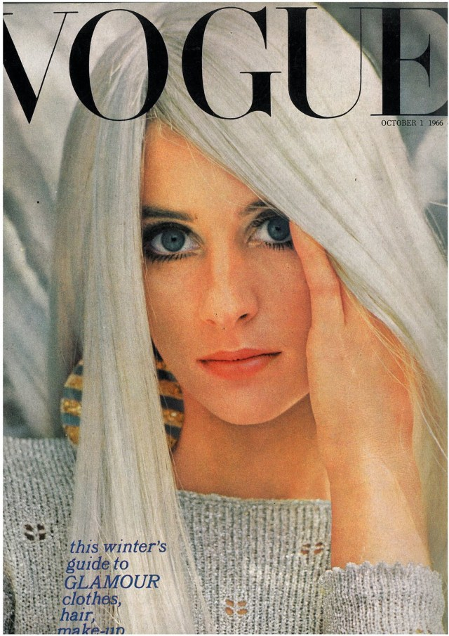 12. Saul Leiter, Vogue Cover, 'Silver Hair'