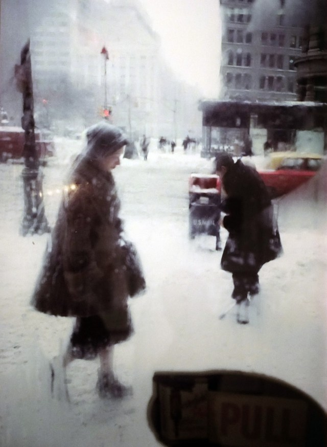 2. 'Window Snow'Snow Car', Saul Leiter:Dave Dye
