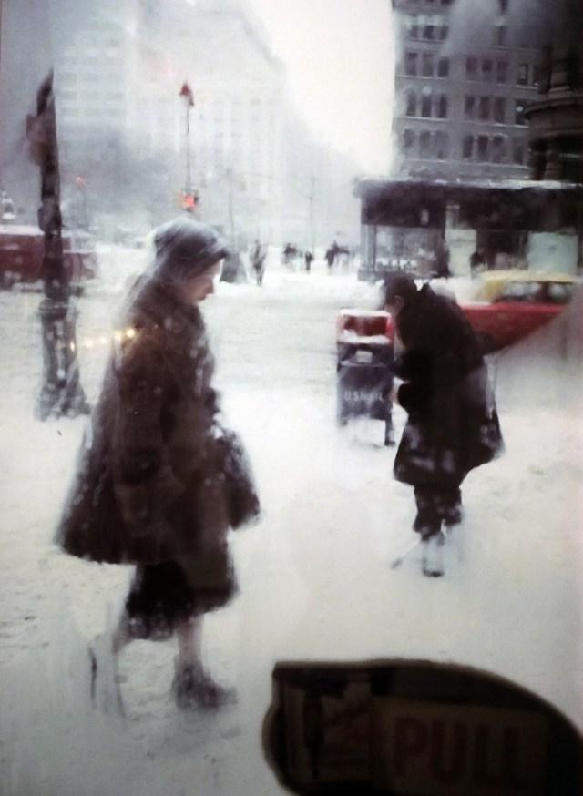 2. 'Window Snow'Snow Car', Saul Leiter:Dave Dye