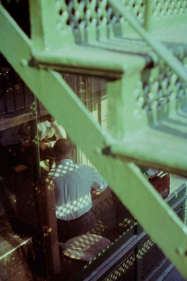 'Green Staircase', Saul Leiter:Dave Dye.jpg