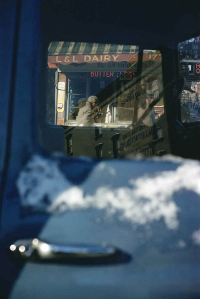 'Snow Car', Saul Leiter:Dave Dye.jpg